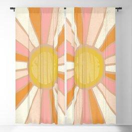 sundial shine, clay Blackout Curtain