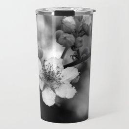 Blackberry Flower Travel Mug