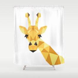 a giraffe Shower Curtain