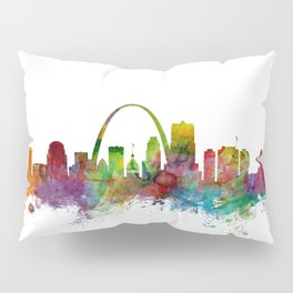 St Louis Missouri Skyline Pillow Sham