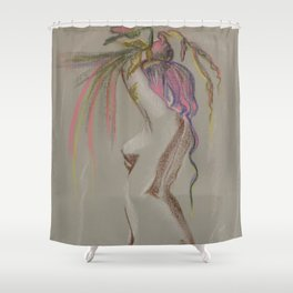 Shake Shower Curtain