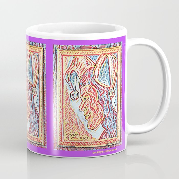 Jester Profile Coffee Mug