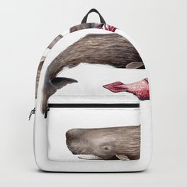 Sperm whale family Backpack
