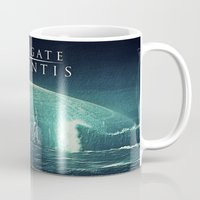 stargate Mugs featuring Through the storm by Samy