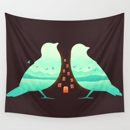 Nature is Home Wall Tapestry