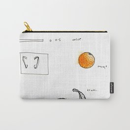 not unwanted orange Carry-All Pouch