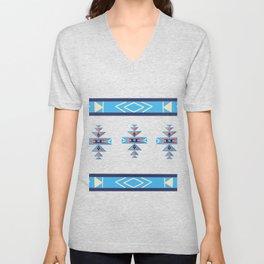 Native American Aztec pattern Unisex V-Neck