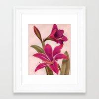 vintage floral Framed Art Prints featuring Vintage Floral by 83 Oranges™