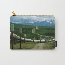Alaska Pipeline Carry-All Pouch