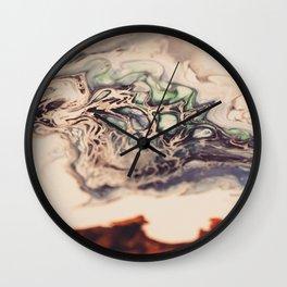 Sea and Lava, Painting Wall Clock