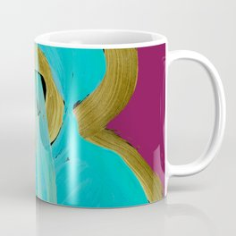 Uke Box Blue Paint Coffee Mug