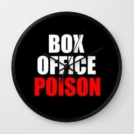 Box Office Poison Wall Clock