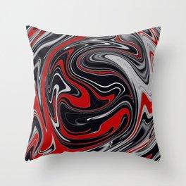 Detroit Agate Throw Pillow
