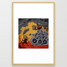 Resist Framed Art Print