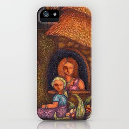 Africa in my soul iPhone Case