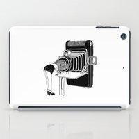 selfie iPad Cases featuring Selfie by Henn Kim