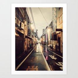 Shinjuku Shine Art Print