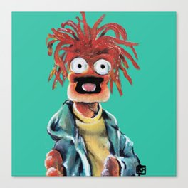 Pepe The King Prawn Canvas Print