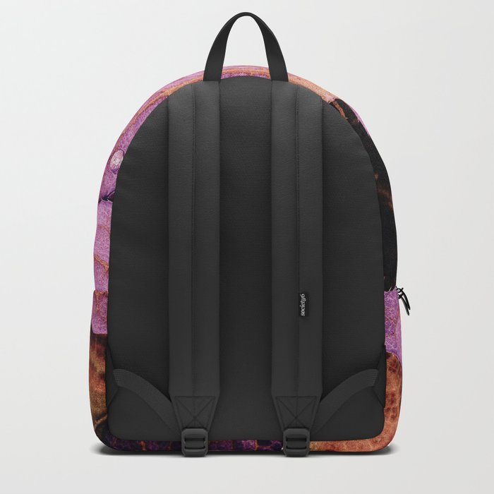 Fallen Leaves With Dew Backpack