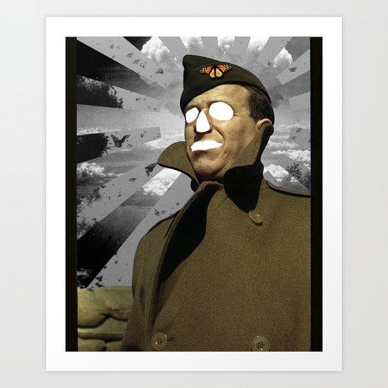 Horror Hero Art Print