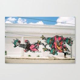 transient Canvas Print