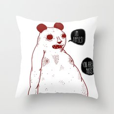 im apples Throw Pillow
