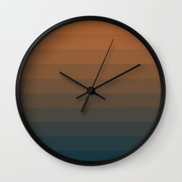 Leather Bound Wall Clock