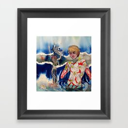The People in This Place Framed Art Print