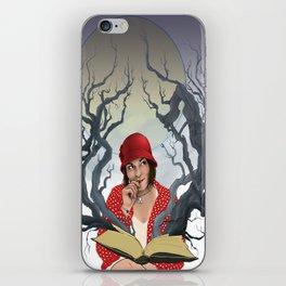 Escape into Reading iPhone Skin