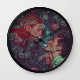 Romeo and Juliet Wall Clock