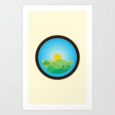 Veranum Art Print