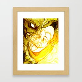 Fear - 001 Framed Art Print