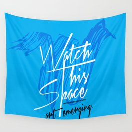 Watch This Space Signature W Wall Tapestry