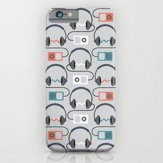 Headphones Pattern iPhone 6 Slim Case