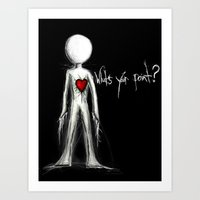 Define Your Love Art Print