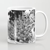 scary Mugs featuring Scary Soul by bimorecreative