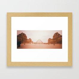 Wavy Louvre 1 Framed Art Print