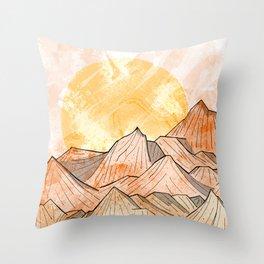 Sandy Shores Throw Pillow