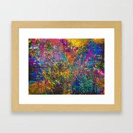LIVE FULLY! Framed Art Print
