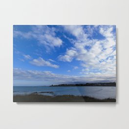 Kakanui River Mouth Metal Print