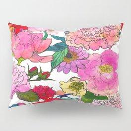 Peonies & Roses Pillow Sham