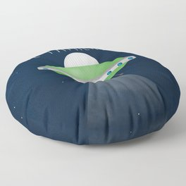 The Fathership Floor Pillow