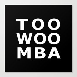 TOOWOOMBA Typography Canvas Print
