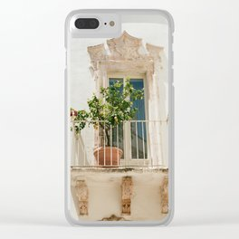 Lemon Tree Clear iPhone Case