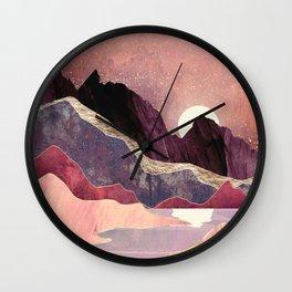 Blush Vista Wall Clock