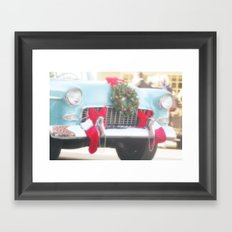 Holiday Cruisin' Framed Art Print