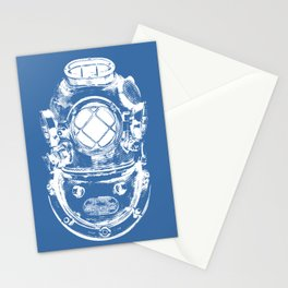 Scuba diver Stationery Cards