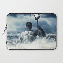 Poseidon - God of Sea Rising Laptop Sleeve