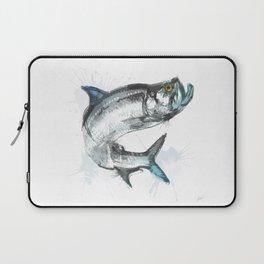 Tarpon Fish Laptop Sleeve