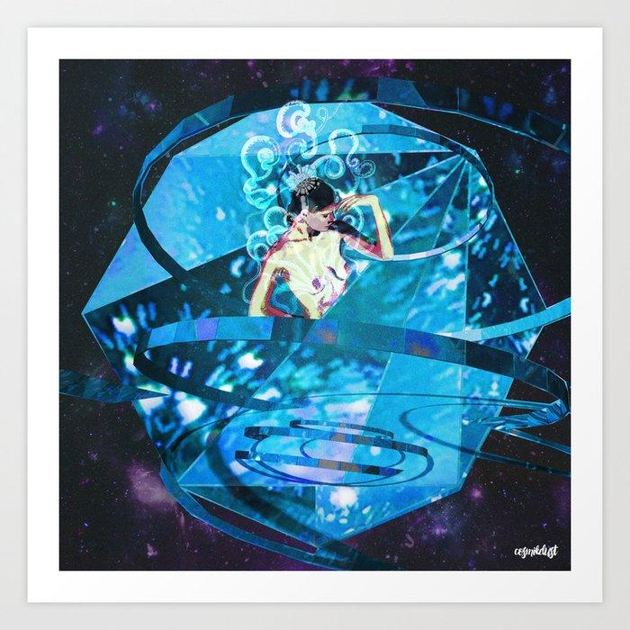Deep Space Voyage 5 Art Print